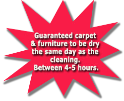 Carpet Cleaning serving Cumberland County and the Fayetteville, North Carolina Metropolitan Area